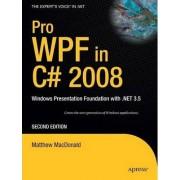 Pro WPF in C# 2008 by Matthew MacDonald