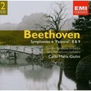 Carlo Maria Giulini - Beethoven: Symphony Nos 6, 8 & 9 (0724358549027) (2 CD)