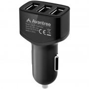 Incarcator auto Avantree CGCA-TR408-BLK USB negru