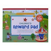 Made By Me Children's Reward Pad - Made By Me Tabla de recompensas para niños, incluye 30 tablas y más de 300 pegatinas