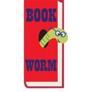 Magnetische boekenlegger: Book worm