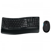 Kit tastatura + mouse wireless MICROSOFT Sculpt Comfort Desktop L3V-00021, negru