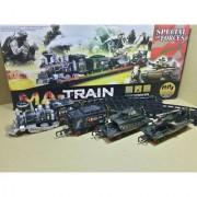 Blue Lotus Train Track Play Set