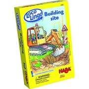 HABA Loco Lingo Building Site - 5 Fun Word Games for Children Ages 3 and Up (Made in Germany)
