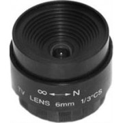 Securnix Lens 6MM FIXED IRIS, Retail Box , No