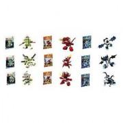 Lego Mixels Series 4 Complete Set Of 9 Globert Vampos Boogly Meltus Flamzer Burnard Rokit Niksput Nu