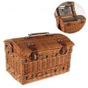 Cos pentru picnic pentru 4 persoane