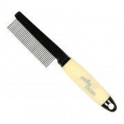 ConairPRO Yellow Dog Comb with Memory Gel Grip - PGRYDCMD