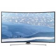 Televizor Smart LED Curbat Samsung 138 cm Ultra HD/4K 55KU6172 , Quad Core, WiFi, USB, CI+, Black