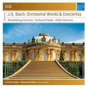 La Petite Bande - La Petite Bande - Bach Orchestral Works (0886976838522) (5 CD)