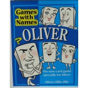 OLIVERS GAME. New item! The Fun New Card Game Especially for People Called Oliver, Olly or Ollie.
