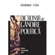DICTIONAR DE GANDIRE POLITICA
