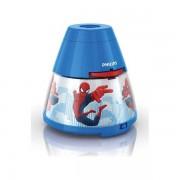 Stona lampa dečija i projektor Spiderman 71769/40/16 – Philips