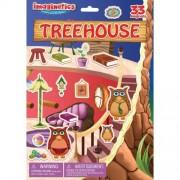 Imaginetics 33 Magnets Treehouse Play Set