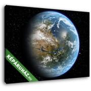 A Mars - ha atmoszférája lenne (35x25 cm, Vászonkép )