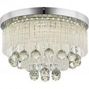 NOVEL LED-DECKENLEUCHTE, Glas, Metall, 150x40 cm