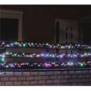 Kültéri LED fényfüzér 7 m 100 db multi LED KKL 100M
