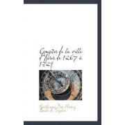 Comptes de La Ville D'Ypres de 1267 1329 by Guillaume Des Marez