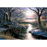 A Country Silent Night a 2000-Piece Jigsaw Puzzle by Sunsout Inc. by SunsOut