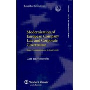 Modernization of European Company Law and Corporate Governance by Gert-Jan Vossestein