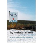 They Treated Us Just Like Indians by Paula L. Wagoner