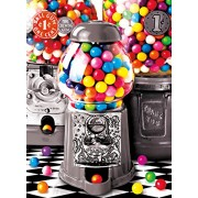 Buffalo Games Gumball Surprise Jigsaw Puzzle from The Color Splash Collection (1000 Piece) by Buffalo Games