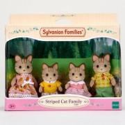 Sylvanian Families - Csíkos cica család