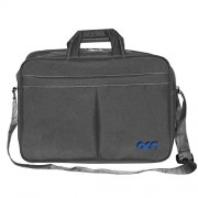 """Acm Executive Office Padded Laptop Bag for Lenovo Ideapad 300 15isk 80q700uein 15.6"""" Laptop Grey"""
