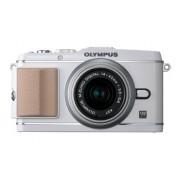 Olympus - Olympus E-P3 Blanca con 14-42mm II R Plata