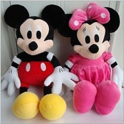 Disney's Mickey and Minnie Mouse Soft Toys 29 Cms