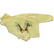 Detské pyžamo - ŽIRAFA, žlté Velkosť: 110