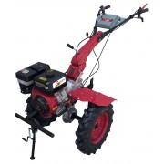 Motocultor Gardelina 1100D WM cu roti metal 400mm si plug reversibil profi