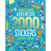 Awesome Adventure 2000 Stickers Activity Book by Parragon Books Ltd