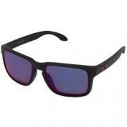 Oakley Óculos de Sol Oakley Holbrook Iridium - Unissex - PRETO/VERMELHO