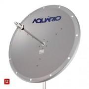 ANTENA MINI PARABÓLICA AQUARIO P/ INTERNET 5.8 Ghz 25dBi 40cm