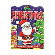 Christmas Sticker Book Christmas Eve Activity Stocking Filler Tree