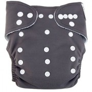 Trend Lab Cloth Diaper Gray with White Liner