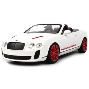 Licensed Bentley Continental Gt Supersports Isr Convertible Electric Rc Car 1:14 Scale Ready To Run Rtr Detailed Interi
