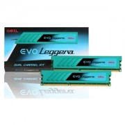 Memorie GeIL EVO Leggera 8GB (2x4GB) DDR3 2400MHz PC3-19200 CL11 1.65V XMP Dual Channel Kit, GEL38GB2400C11BDC