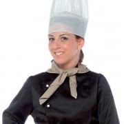 Pañuelo, pico de cocinero unisex Beige