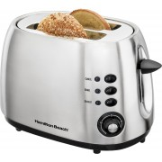 Hamilton Beach Modern Brushed Toaster 22504 900 W Pop Up Toaster