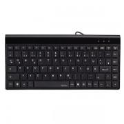 Mini tastatura Hama SL720 Slimline (Neagra)