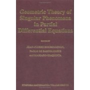Geometric Theory of Singular Phenomena in Partial Differential Equations by Jean-Pierre Bourguignon
