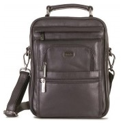 Brando Andes Leather Tablet Crossbody with Handle