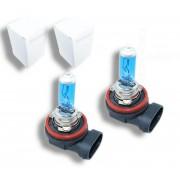 Pack Ampoule H8 35W Effet Xenon - Super White 5000K