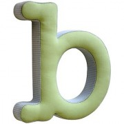 New Arrivals The Letter B Blue And Green