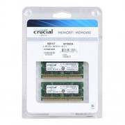 Crucial 16GB Kit (8GBx2) DDR3L 1866 MT/s (PC3-14900) SODIMM 204-Pin Mémoire pour Mac - CT2C8G3S186DM