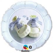Baby Boy Shoes Foil Balloon