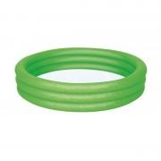 Zöld felfújható medence, 152x30 cm