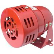 Sirena pentru alarmare, cu motor, alimentare: 12V, c.c.